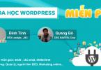 Khóa học Wordpress miễn phí tại TPHCM