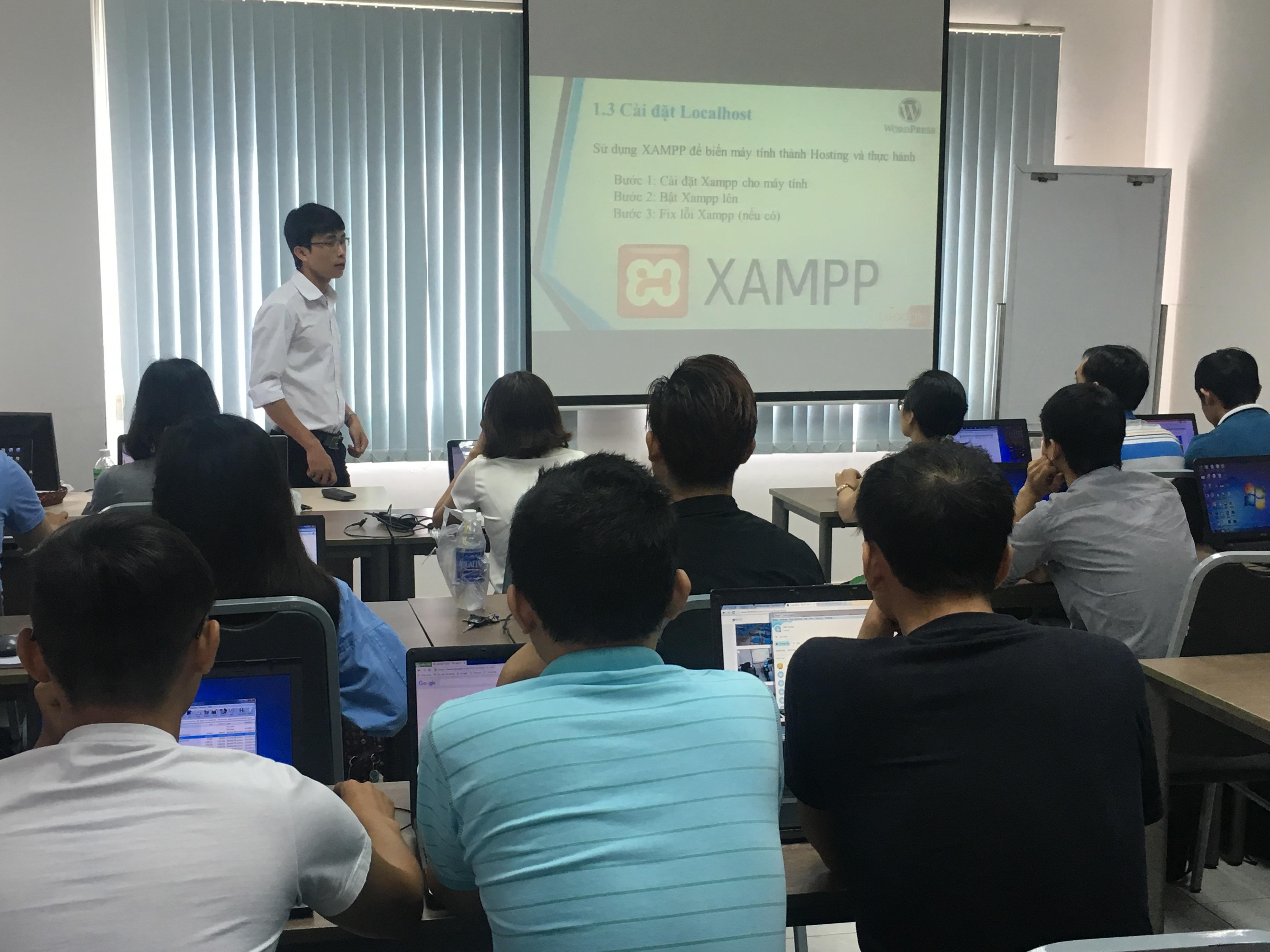 Cài đặt giới thiệu Xampp để biến máy tính thành hosting