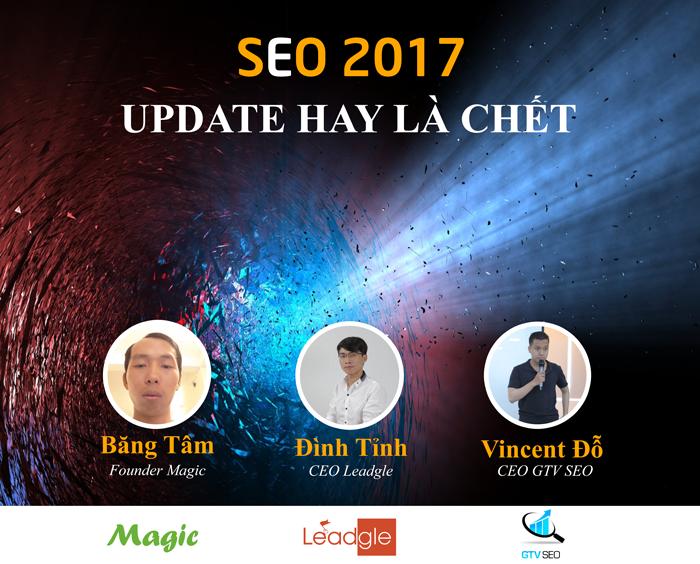 Offline SEO 2017 - Update hay là chết...