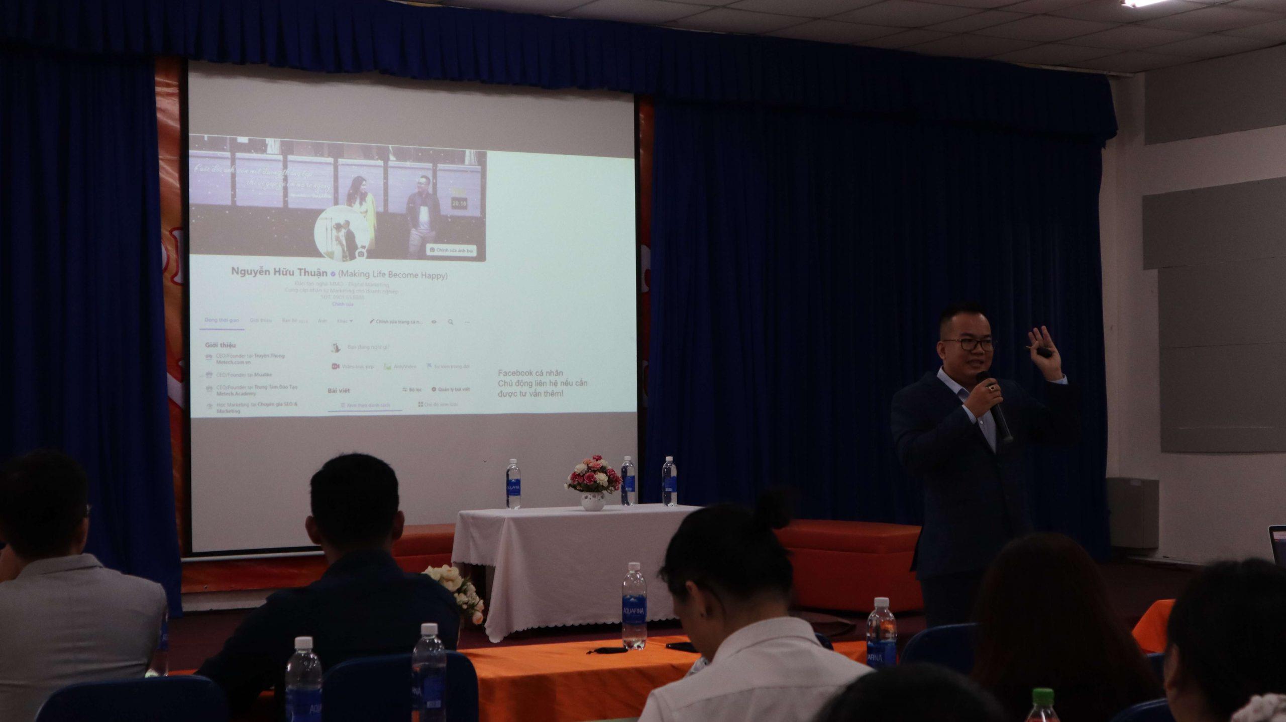 Nguyễn Hữu Thuận CEO Metech chia sẻ khởi nghiệp từ Facebook