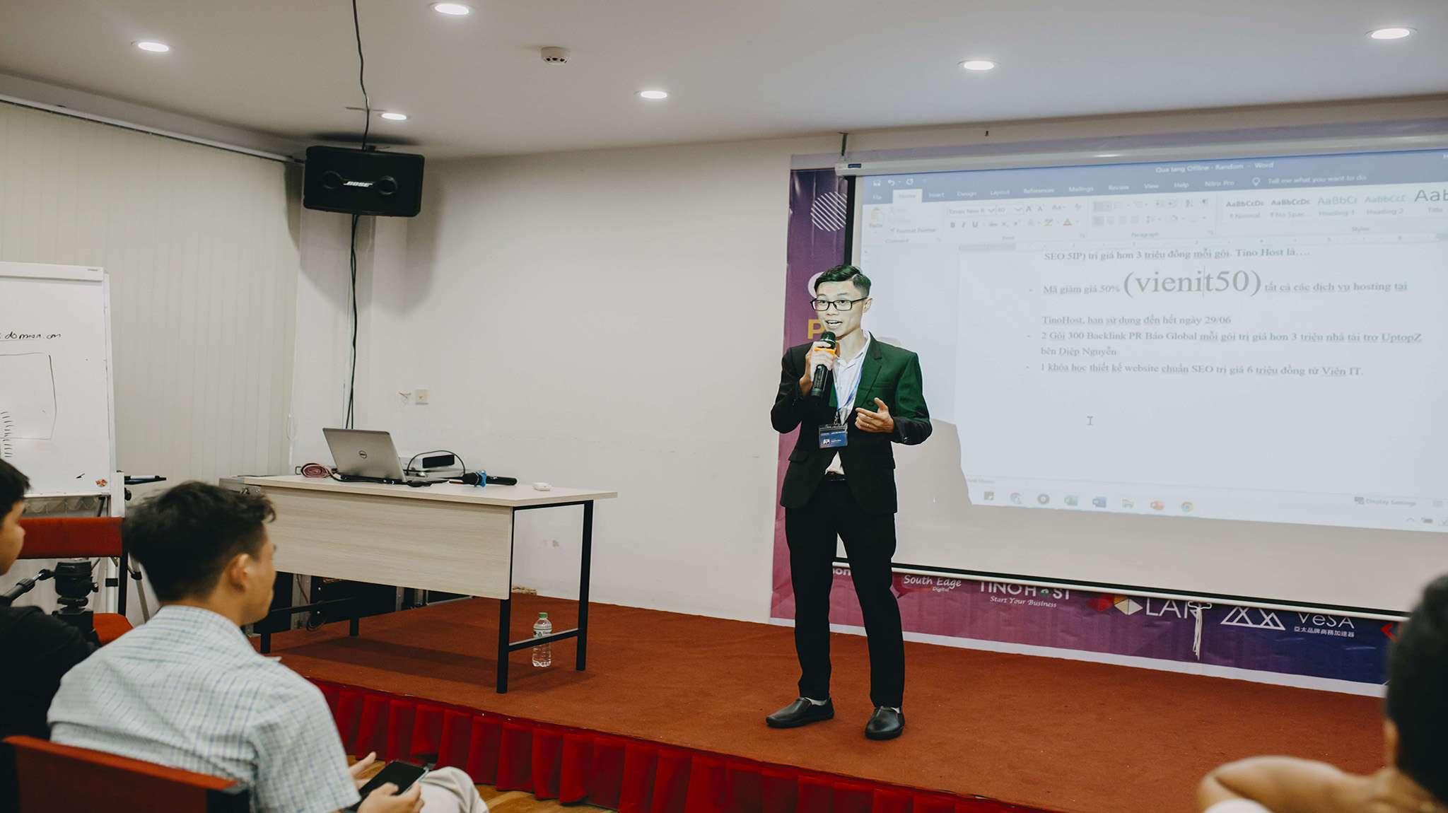 Hòa Huỳnh chia sẻ về User signal