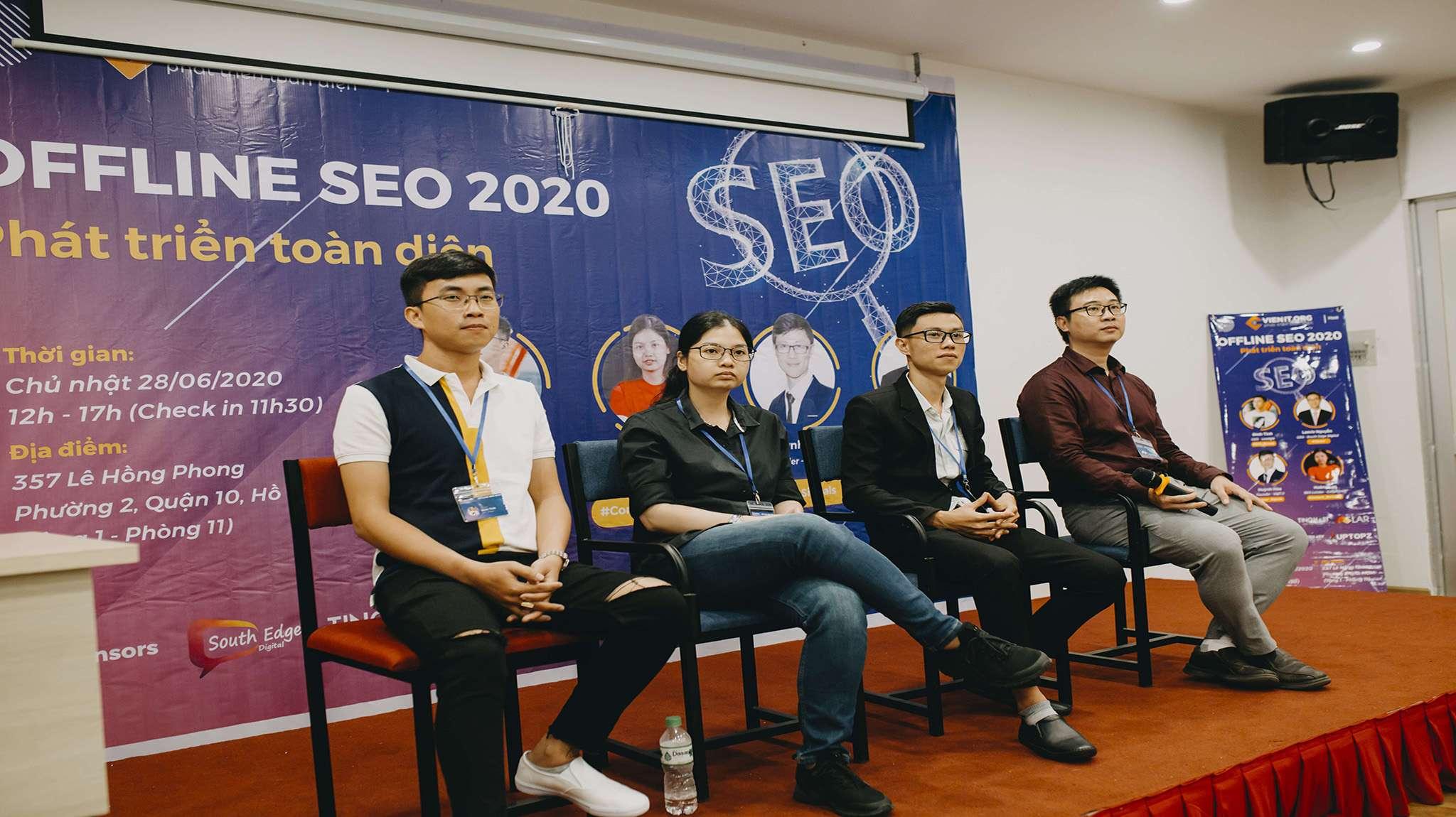 Hỏi đáp trong sự kiện SEO 2020