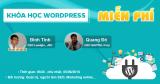 Khóa học WordPress miễn phí
