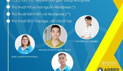 [Sự kiện] Workshop WordPress 2017